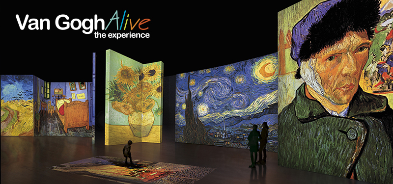 Calendar Art Journal : Van gogh alive the experience anchorage museum at