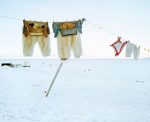 Two Polar Bear Trousers and Three Towels