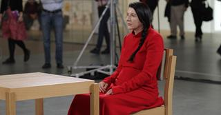 "Celluloid Wednesdays: Marina Abramovic: ""The Artist is Present"""